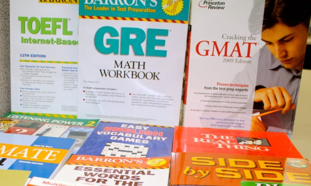 Books for a test preparation course in the USA