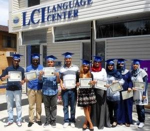 LCI Language Center graduates are prepared to study at an American university.