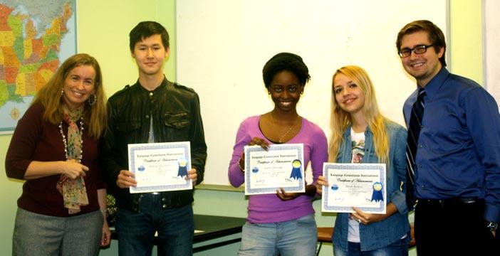 Graduation English Language Training Houston